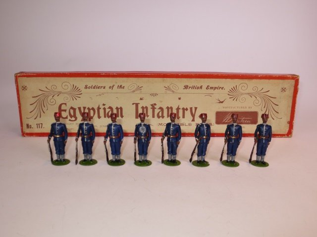 Britains Set #117 Egyptian Infantry