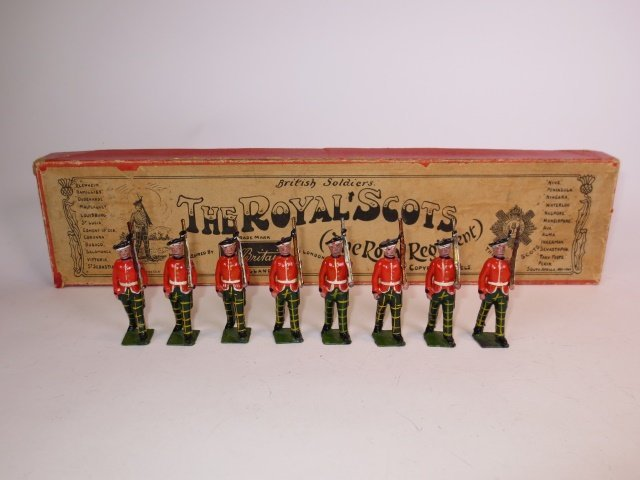Britains Set # 212 The Royal Scots