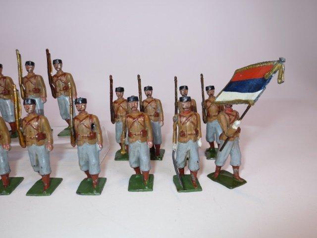 Britains Paris Office Serbian Infantry - 5
