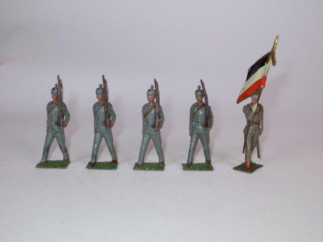 Britains Paris Office Prussian Infantry
