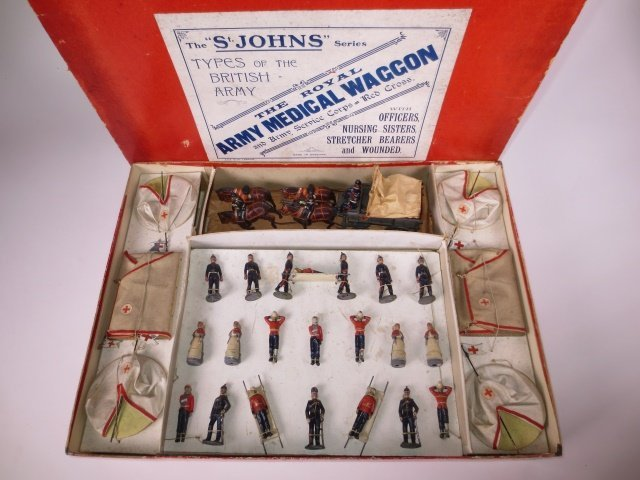 Britains St. Johns Medical Corps.