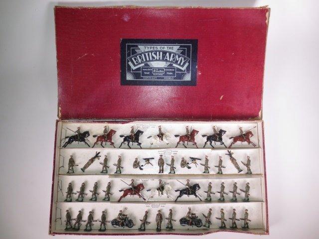 Britains Set #1608 British Army Khaki Display