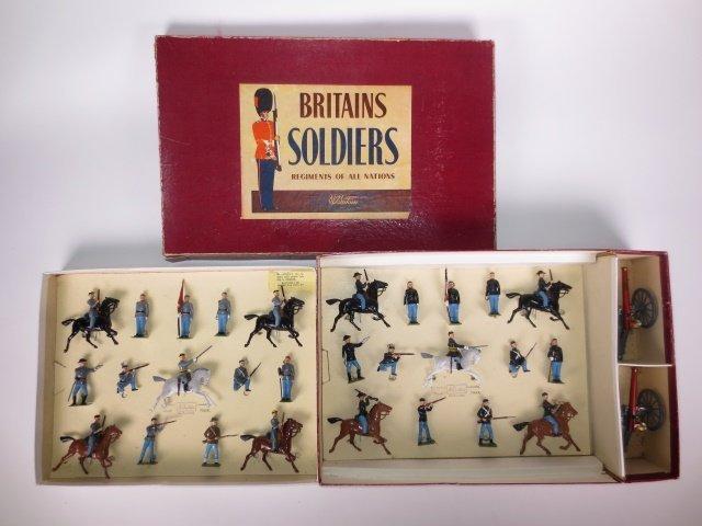 Britains Set #2070 Civil War Display