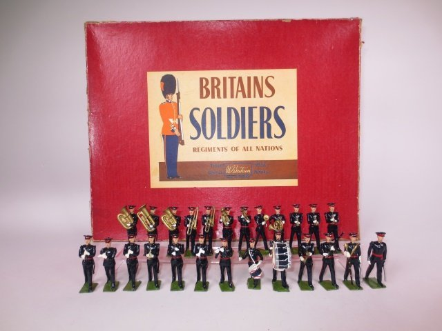 Britains Set #2093  Royal Berkshire Band