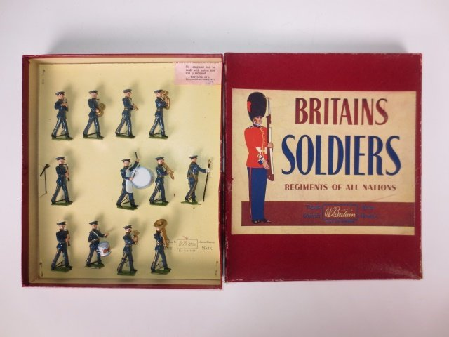 Britains Set #2116 Band of the Royal Airforce