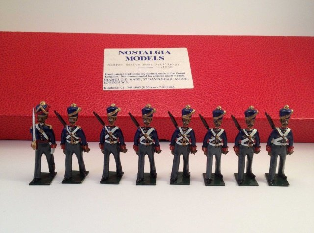 Nostalgia NM-98 Madras Foot Artillery 1850