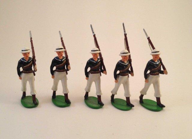 British Bulldog Sailors Marching