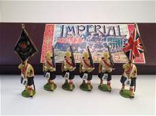 Imperial No24 Black Watch Colour Party