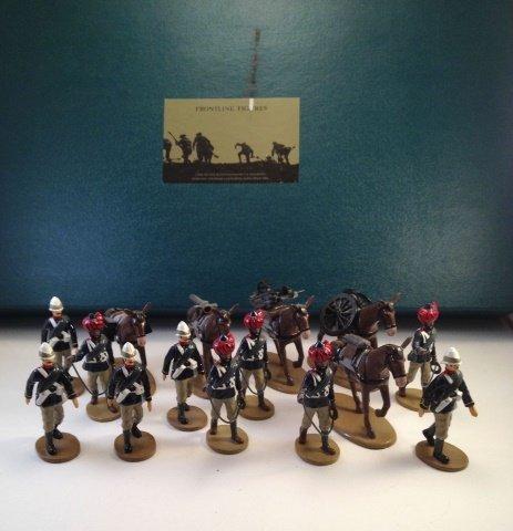Frontline MG1 British Mountain Gun Team