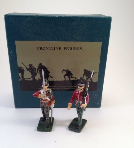 Frontline PDO10 British Highland Officer & NCO