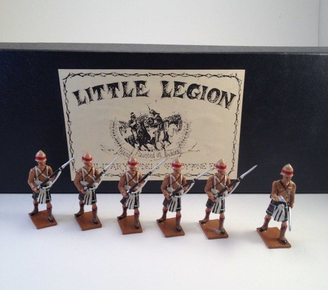 Little Legion ES01 Seaforth Highlanders Sudan