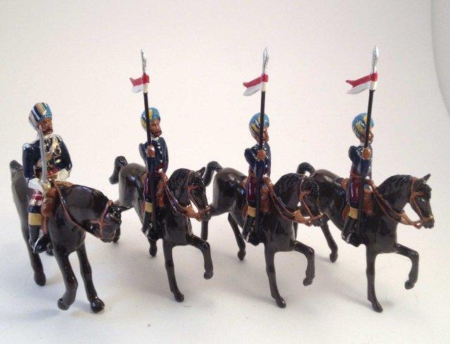 Marlborough D-157 Kapthurlala Lancers & Officer