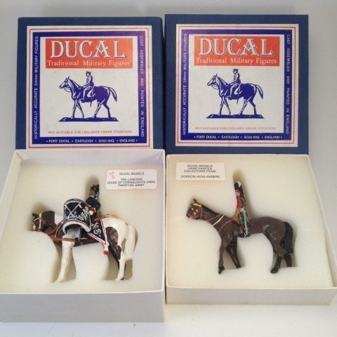 Ducal 13th Lancers & Gordon Highlanders Mounted