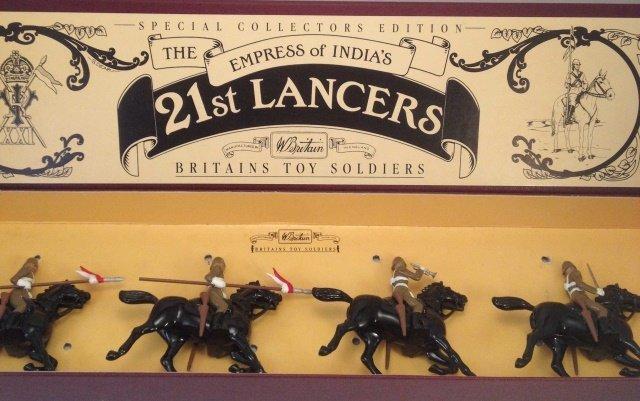 Britains 8807 21st Lancers