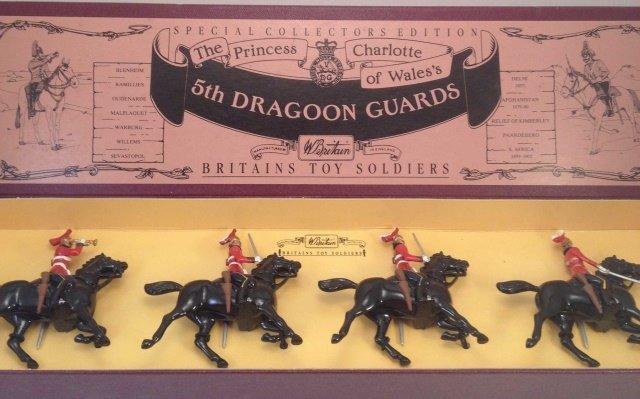 Britains 8821 5th Dragoon Guards