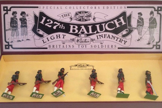 Britains 8833 127th Baluch Light Infantry