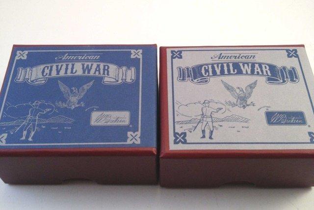 Britains 49029 & 49030 Civil War Officers