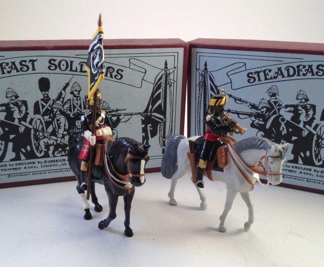 Steadfast SF111A & B Jacob's Horse W/Flag & Bugler