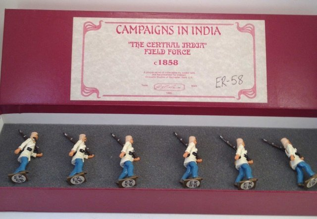 Campaigns In India ER-58 India Force 1858