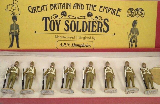 APN Humphries British Infantry Sudan