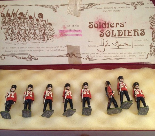 Soldiers Soldiers Fusiliers