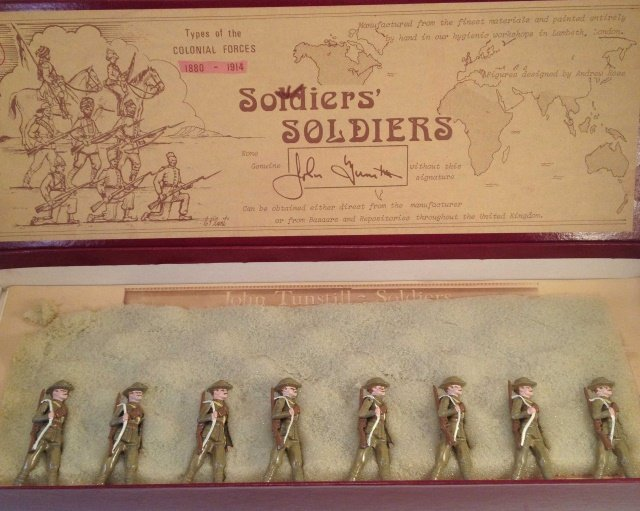 Soldiers Soldiers Colonial Forces