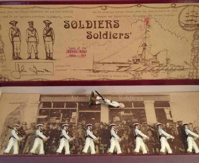 Soldiers Soldiers Royal Navy