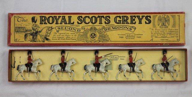 Britains Set #32 Royal Scots Greys