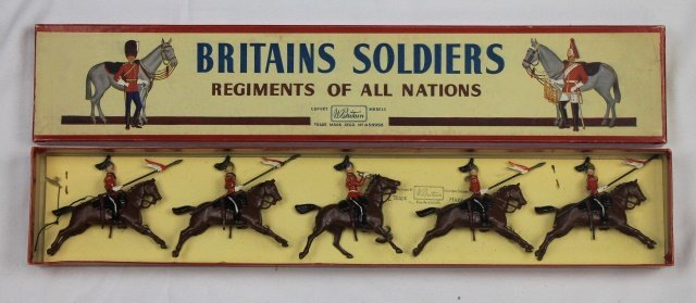 Britains Set #44 2nd Dragoon Guards
