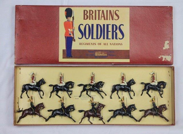 Britains Set #50 Life Guards 4th Hussars Display