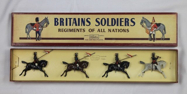 Britains Set #66 13th Lancers