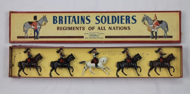 Britains Set #138 French Cuirassiers