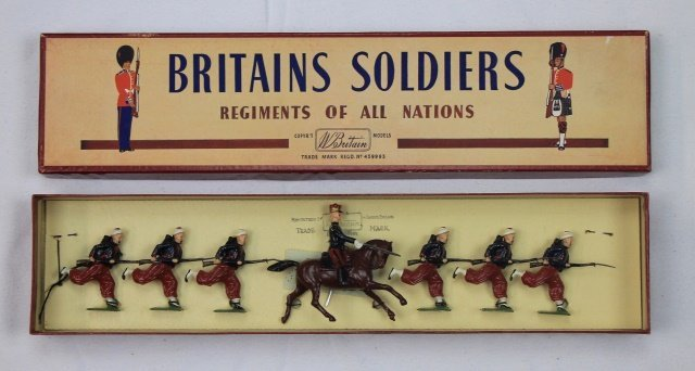 Britains Set #142 French Zouaves