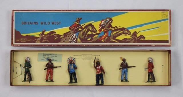 Britains Set # 150 North American Indians