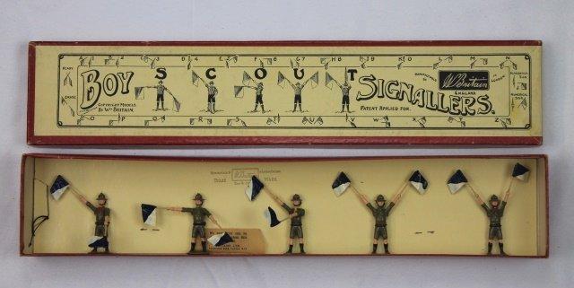 Britains Set #163 Boy Scout Signalers