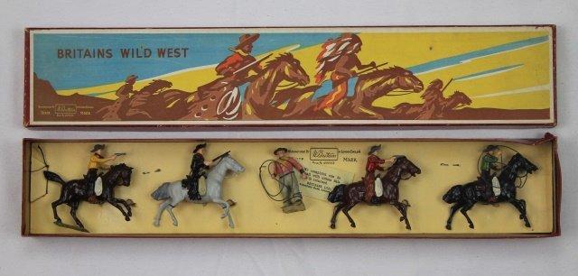 Britains Set #179 Cowboys Mounted and Foot