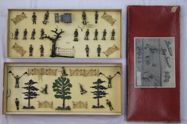 Britains Set #181 Boy Scout Display