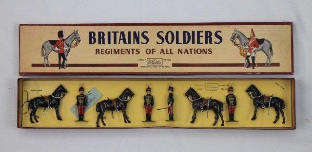 Britains Set #182 11th Hussars