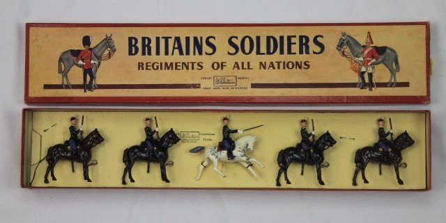 Britains Set #190 Belgian Chasseurs