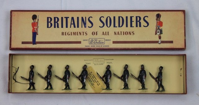 Britains Set #197 Gurkha Rifles