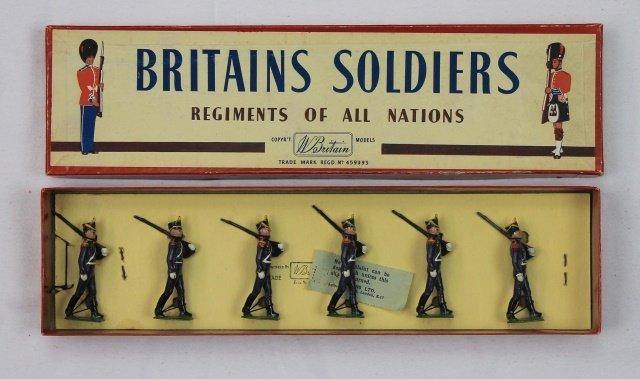 Britains Set #216 Argentine Infantry