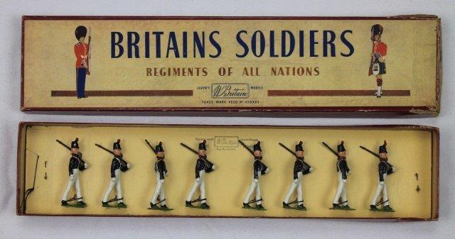 Britains Set #221 Uruguayan Military Cadets