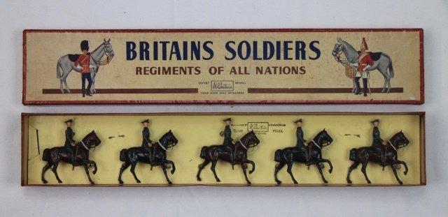 Britains Set #229 United States Cavalry