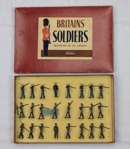 Britains Set #232 American Armed Forces Display
