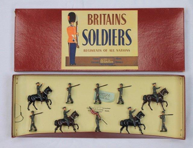 Britains Set #267 US Infantry Display