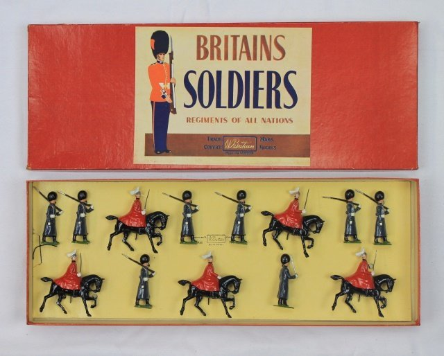 Britains Set #429 Scots Guards and Life Guards