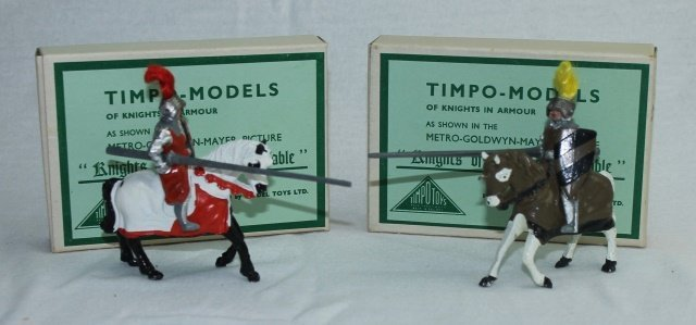 LOT Timpo Mounted Knights of the Round Table