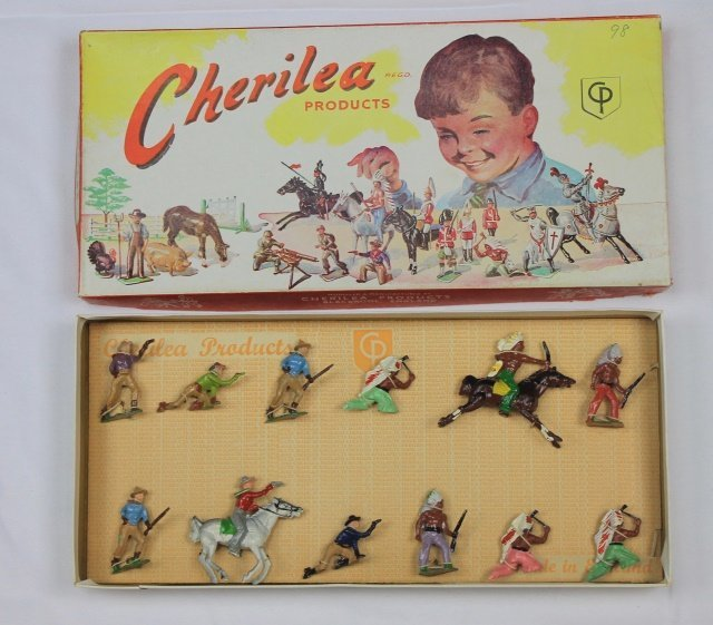 Cherilea Set #7203 Cowboys and Indians