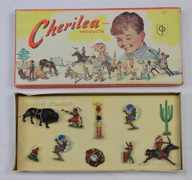 Cherilea Set #7207 Cowboys and Indians