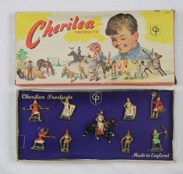 Cherilea Set #S317 Crusader Knights and Saracens